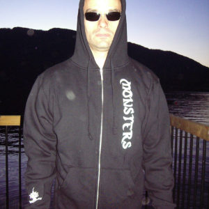 Monsters_Zip_hoodie_front