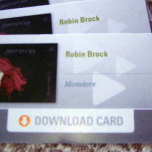 """Monsters"" Download Card"